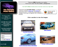 Chevettes.com's home page