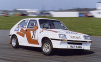 Chevette HSR in high speed drift
