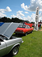 Droopsnoot and flat front Firenzas at Billing 2007