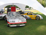 Old Nail, RAK 2 and the Opel Eco-Speedster at Billing in 2006