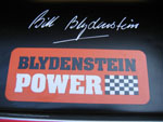 Blydenstein Power sticker