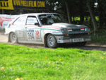 Roger Kilty's Chevette HSR on the Trackrod Rally 2006