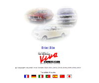 The Viva Owners' Club website